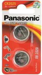 Bild von Panasonic Lithium Power CR2025 2er Blister