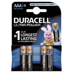 Bild von Duracell Ultra Power MX2400 Micro  4er-Blister
