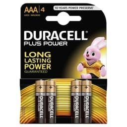 Bild von Duracell Plus Power MN2400 Micro 4er-Blister